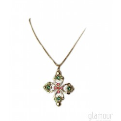 Collana MAKVLA Jewels art. S/CL16 Verde