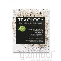 Teaology Green Tea Detoxing and Reshaping Salt Bath shopglamour.it