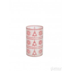 Porta Giara 1651270 Red Nordic Frost Yankee Candle Shopglamour.it
