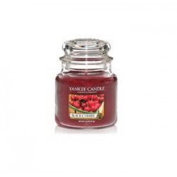 Candela Yankee Candle Black Cherry Giara Classica Media